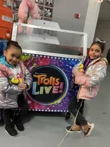 Leila attended Trolls Live! - Evening Show - Presented by Vstar Entertainment on Dec 14th 2019 via VetTix