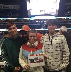 Crystal T.  attended Orlando Solar Bears vs. Jacksonville Icemen - ECHL on Dec 5th 2019 via VetTix