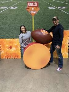 pedro attended 2019 Cheez-it Bowl: Air Force Academy Falcons vs. Washington State Cougars on Dec 27th 2019 via VetTix