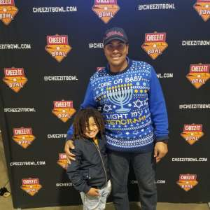 Cal attended 2019 Cheez-it Bowl: Air Force Academy Falcons vs. Washington State Cougars on Dec 27th 2019 via VetTix