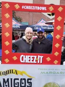 Mark attended 2019 Cheez-it Bowl: Air Force Academy Falcons vs. Washington State Cougars on Dec 27th 2019 via VetTix