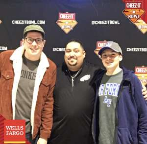 Fernando attended 2019 Cheez-it Bowl: Air Force Academy Falcons vs. Washington State Cougars on Dec 27th 2019 via VetTix