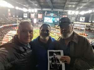 STEVEN attended 2019 Cheez-it Bowl: Air Force Academy Falcons vs. Washington State Cougars on Dec 27th 2019 via VetTix