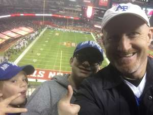 Travis attended 2019 Cheez-it Bowl: Air Force Academy Falcons vs. Washington State Cougars on Dec 27th 2019 via VetTix