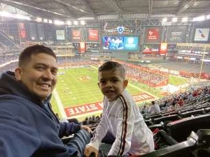 Heriberto attended 2019 Cheez-it Bowl: Air Force Academy Falcons vs. Washington State Cougars on Dec 27th 2019 via VetTix