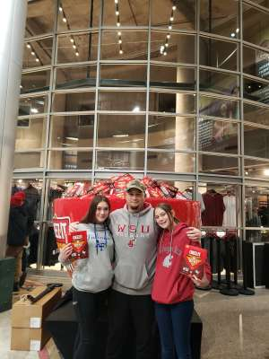 Jason attended 2019 Cheez-it Bowl: Air Force Academy Falcons vs. Washington State Cougars on Dec 27th 2019 via VetTix