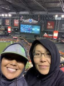 Leslie attended 2019 Cheez-it Bowl: Air Force Academy Falcons vs. Washington State Cougars on Dec 27th 2019 via VetTix