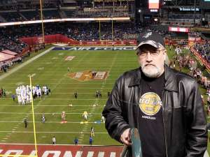 Dennis attended 2019 Cheez-it Bowl: Air Force Academy Falcons vs. Washington State Cougars on Dec 27th 2019 via VetTix