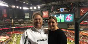 Patrick attended 2019 Cheez-it Bowl: Air Force Academy Falcons vs. Washington State Cougars on Dec 27th 2019 via VetTix