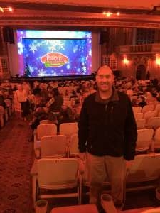 Christopher attended Rudolph the Red - Nosed Reindeer - the Musical on Dec 4th 2019 via VetTix