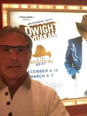 Bill H attended SiriusXM Presents an Evening With Dwight Yoakam & the Bakersfield Beat on Dec 4th 2019 via VetTix