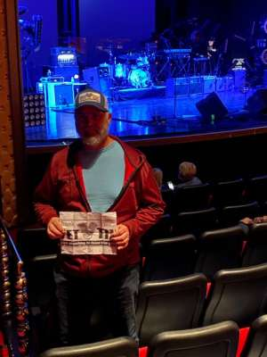 RayP attended SiriusXM Presents an Evening With Dwight Yoakam & the Bakersfield Beat on Dec 4th 2019 via VetTix