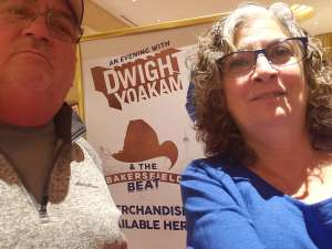 barbara attended SiriusXM Presents an Evening With Dwight Yoakam & the Bakersfield Beat on Dec 4th 2019 via VetTix