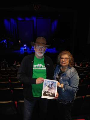 MICHAEL attended SiriusXM Presents an Evening With Dwight Yoakam & the Bakersfield Beat on Dec 4th 2019 via VetTix