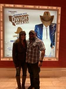 Bobby attended SiriusXM Presents an Evening With Dwight Yoakam & the Bakersfield Beat on Dec 4th 2019 via VetTix
