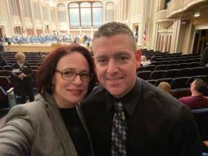 John attended Bronfman Plays Mozart - Presented by the Cleveland Orchestra on Jan 9th 2020 via VetTix