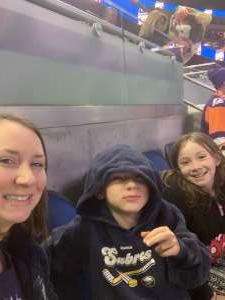 nichole attended Orlando Solar Bears vs. Atlanta Gladiators - ECHL on Dec 7th 2019 via VetTix