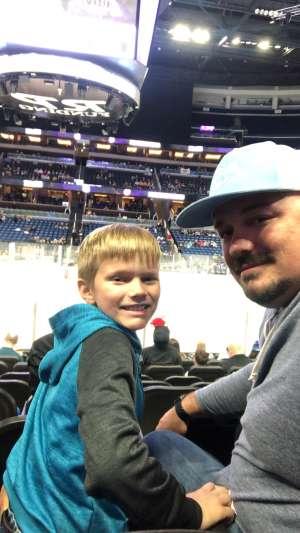 Brodreich attended Orlando Solar Bears vs. Atlanta Gladiators - ECHL on Dec 7th 2019 via VetTix