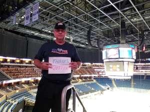 Jeffrey attended Orlando Solar Bears vs. Atlanta Gladiators - ECHL on Dec 7th 2019 via VetTix