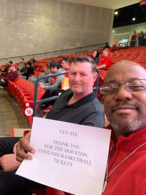 KERRY attended University of Houston Cougars vs. Texas State - NCAA Men's Basketball on Dec 4th 2019 via VetTix