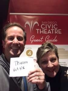 Frank attended California Ballet Presents the Nutcracker on Dec 14th 2019 via VetTix