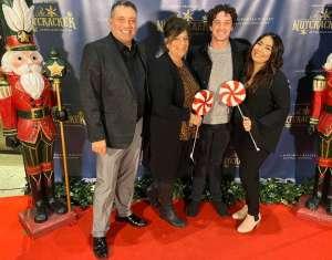 Russell attended California Ballet Presents the Nutcracker on Dec 14th 2019 via VetTix