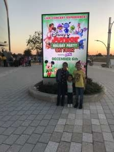 Christopher attended Disney Junior Holiday Party! on Dec 6th 2019 via VetTix