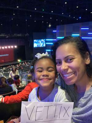 Frederick attended Disney Junior Holiday Party! on Dec 6th 2019 via VetTix