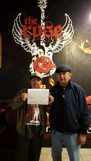 Santiago Nieves Jr Semper Fi  attended Half Baked Bash on Feb 9th 2020 via VetTix