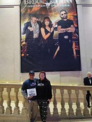 Gil attended Reba, Brooks & Dunn - Together in Vegas on Dec 4th 2019 via VetTix