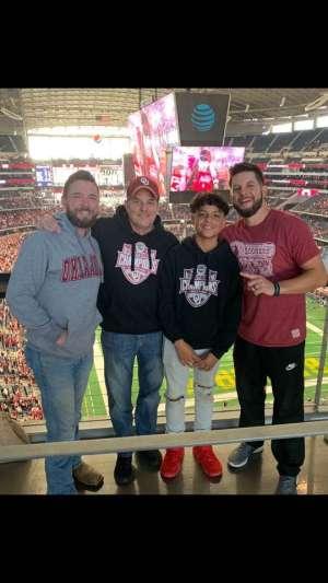 Michael attended Big 12 Championship: Oklahoma Sooners vs. Baylor Bears - NCAA Football on Dec 7th 2019 via VetTix