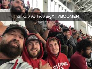 Crystal attended Big 12 Championship: Oklahoma Sooners vs. Baylor Bears - NCAA Football on Dec 7th 2019 via VetTix