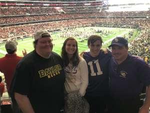 Matthew attended Big 12 Championship: Oklahoma Sooners vs. Baylor Bears - NCAA Football on Dec 7th 2019 via VetTix
