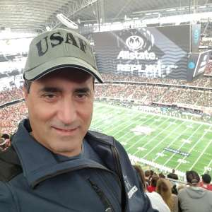 Carlos attended Big 12 Championship: Oklahoma Sooners vs. Baylor Bears - NCAA Football on Dec 7th 2019 via VetTix