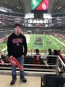 Tyler attended Big 12 Championship: Oklahoma Sooners vs. Baylor Bears - NCAA Football on Dec 7th 2019 via VetTix