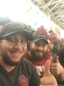 David attended Big 12 Championship: Oklahoma Sooners vs. Baylor Bears - NCAA Football on Dec 7th 2019 via VetTix