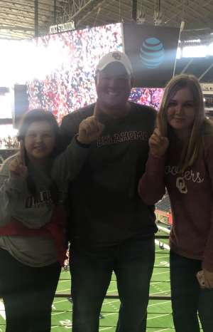 Mike attended Big 12 Championship: Oklahoma Sooners vs. Baylor Bears - NCAA Football on Dec 7th 2019 via VetTix