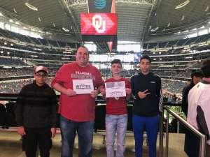 Justin attended Big 12 Championship: Oklahoma Sooners vs. Baylor Bears - NCAA Football on Dec 7th 2019 via VetTix
