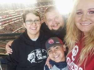 Brittney attended Big 12 Championship: Oklahoma Sooners vs. Baylor Bears - NCAA Football on Dec 7th 2019 via VetTix