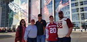 Todd attended Big 12 Championship: Oklahoma Sooners vs. Baylor Bears - NCAA Football on Dec 7th 2019 via VetTix