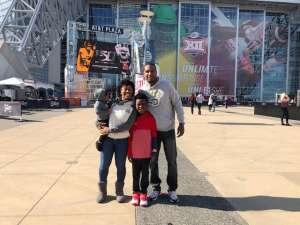 Corey attended Big 12 Championship: Oklahoma Sooners vs. Baylor Bears - NCAA Football on Dec 7th 2019 via VetTix