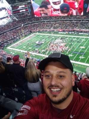 Seth attended Big 12 Championship: Oklahoma Sooners vs. Baylor Bears - NCAA Football on Dec 7th 2019 via VetTix