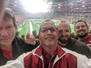 Caleb attended Big 12 Championship: Oklahoma Sooners vs. Baylor Bears - NCAA Football on Dec 7th 2019 via VetTix