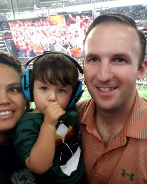 Jordan attended Big 12 Championship: Oklahoma Sooners vs. Baylor Bears - NCAA Football on Dec 7th 2019 via VetTix