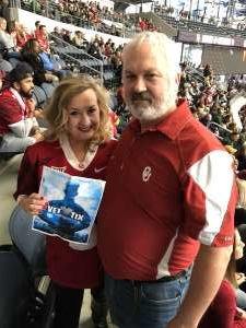 Randal attended Big 12 Championship: Oklahoma Sooners vs. Baylor Bears - NCAA Football on Dec 7th 2019 via VetTix