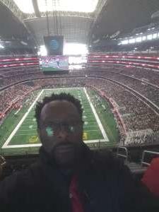 Pat attended Big 12 Championship: Oklahoma Sooners vs. Baylor Bears - NCAA Football on Dec 7th 2019 via VetTix