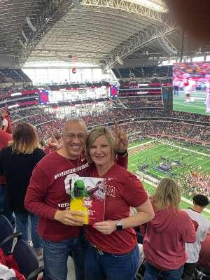 Jordan attended Big 12 Championship: Oklahoma Sooners vs. Baylor Bears - NCAA Football on Dec 7th 2019 via VetTix