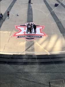 Robbie attended Big 12 Championship: Oklahoma Sooners vs. Baylor Bears - NCAA Football on Dec 7th 2019 via VetTix