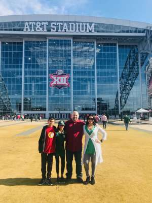 Larry attended Big 12 Championship: Oklahoma Sooners vs. Baylor Bears - NCAA Football on Dec 7th 2019 via VetTix
