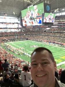 ivan attended Big 12 Championship: Oklahoma Sooners vs. Baylor Bears - NCAA Football on Dec 7th 2019 via VetTix
